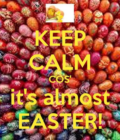 Happy Easter weekend everyone 😃🐰🐣💕🌸🌺🌻🌷💐💜💙💚💛❤️💖🍬🍭🍫🍽
