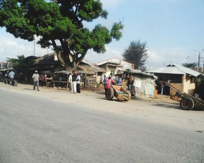 RePicture Travel Real Kenya along the working streets Street Life Travel Locals