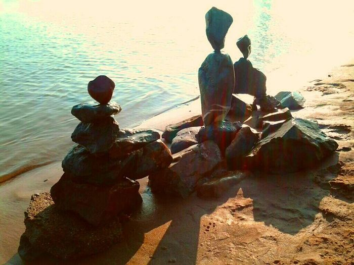 My Creativity This Is My Art!!! Rockbalancing Stone Free Changing Landscapes Creating Dreamscapes