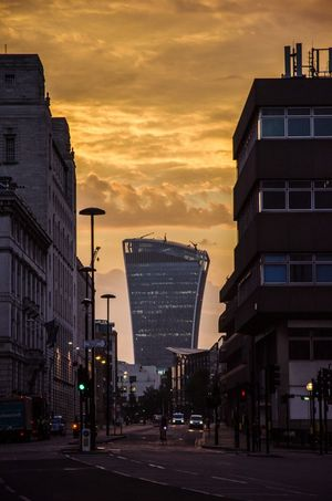 Golden Dawn Architecture City Office Building Cloudscape Sky Sunrise Walkie Talkie Building London London Morning City Of London Golden Dawn Sunrise_sunsets_aroundworld Alucyart 20 Fenchurch Street