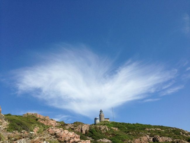 IPhoneography Lighthouse Clouds And Sky Sky_collection