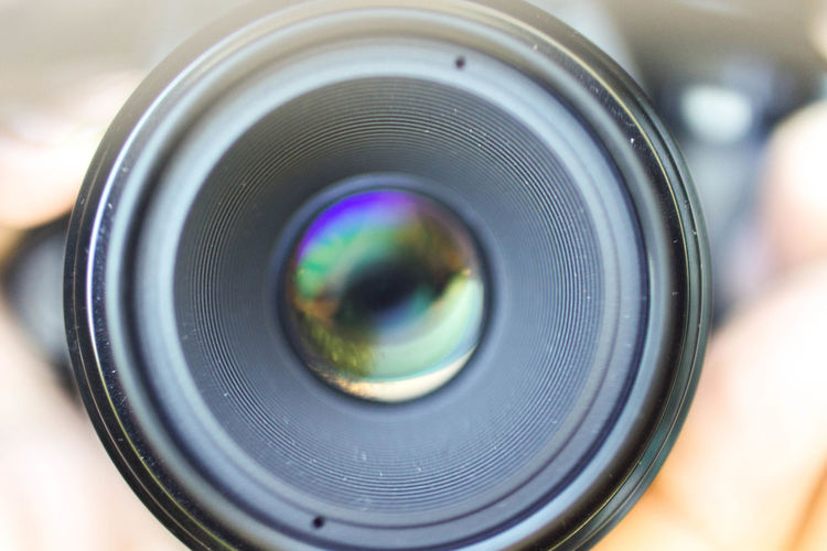 Camera - Photographic Equipment Canon Close-up Day Digital Camera Eye Eyeball Human Eye Human Hand Indoors  Lens - Optical Instrument Lenses Macro Lens One Person People Photography Themes Real People SLR Camera Technology