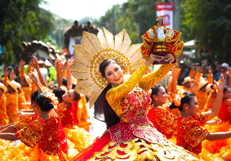 """""""Two steps forward, one step backward"""" - which symbolizes the Sinulog Tradition and ingrained into the Culture of Cebuanos. The Dance step is practiced and passed through by Generation to generation, hence, is considered a Prayer-dance and sacred. People Onebeat Philippines Festival Queen"""