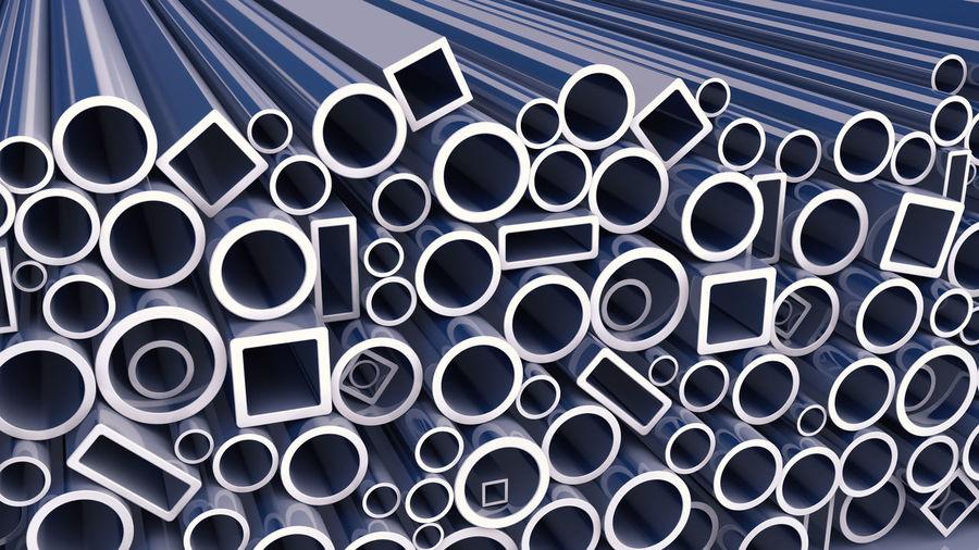Full frame shot of pipes