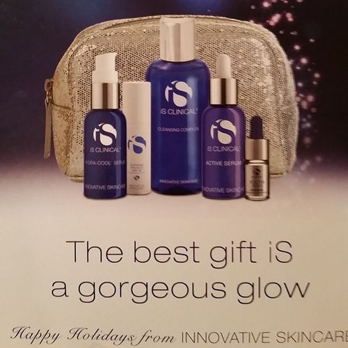 IsClinical and my friend Carla Cohen sell this Holiday Package for $99. Limited packages left...SkinByCarla Skin HydrafacialMD