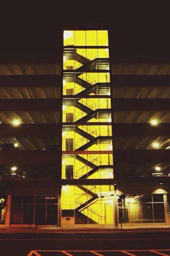 Good evening. Photography Night Shooting Downtown Black&Yellow