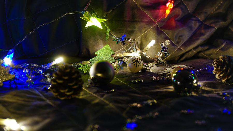 Christmas Christmas Lights!  Holidays Lights New Year Celebration Close-up Decoration Flower Illuminated Indoors  Multi Colored Night No People Tree Decoration