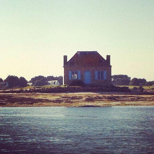 Maison de l île de saint cado Maison Construite En 1894