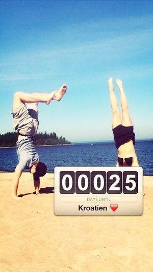 Vacation Croatia ♡ Markaska Rivieran  Holiday♡ 25 days left ☀️??