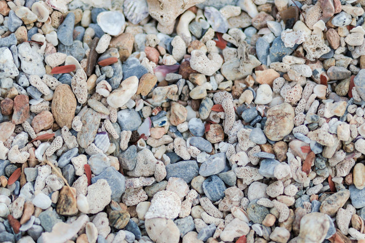Full Frame Stone - Object Large Group Of Objects Backgrounds Abundance Stone Solid Pebble Rock Day No People High Angle View Land Nature Textured  Beach Directly Above Close-up Outdoors Still Life Gravel