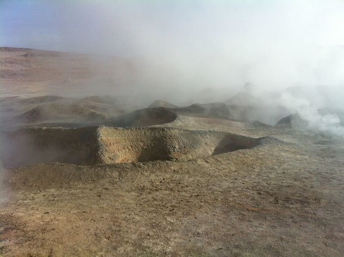 Bolivia Steam Beauty In Nature Desert Beauty Eruption Fumaroles Landscape Nature Volcanic Landscape Volcano