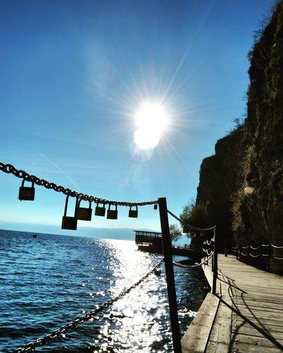 Ohridlake Macedonia Sun Lake Popular Photos