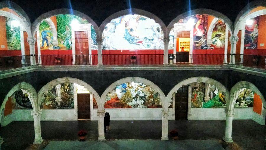"""2do Patio de Palacio de Gobierno"" Aguascalientes Mexico Murales"