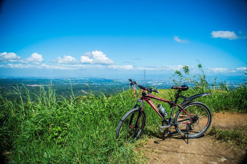 Ride a bike and