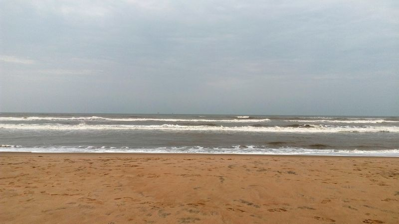 Beach Photography Enjoying Life Yanam Eveningsky Sky And Clouds Sea View