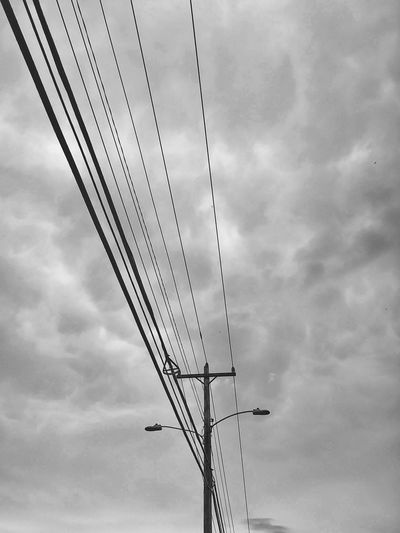Live wires. Check This Out Taking Photos Relaxing Blackandwhite Black And White Blackandwhite Photography Black And White Photography Telephone Pole Wires In The Sky Silhouette Silouette & Sky Silhouette_collection Android AndroidPhotography Androidography Eyeemphotography EyeEm Best Shots