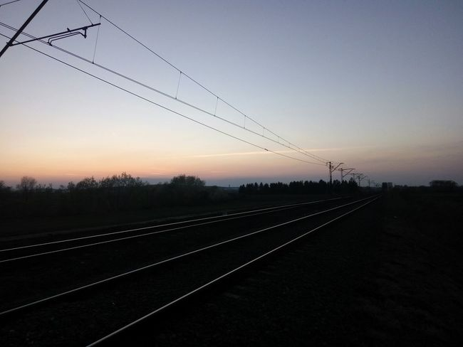 No People Day Sunset Photooftheday Piękna_pogoda Beautiful Weather♡ Beautiful April 2017 Spring 2017 Springtime Sky