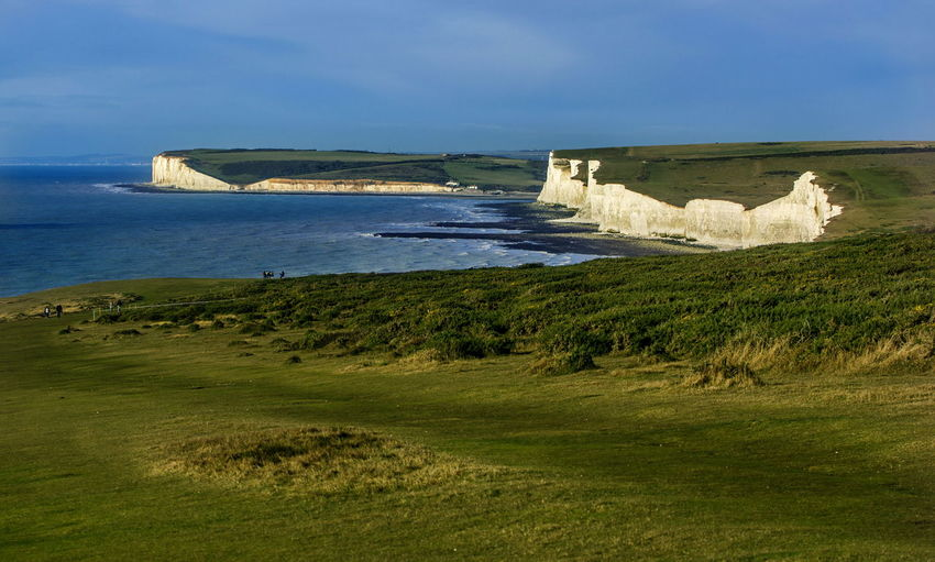 Idyllic shot of seven sisters against sky