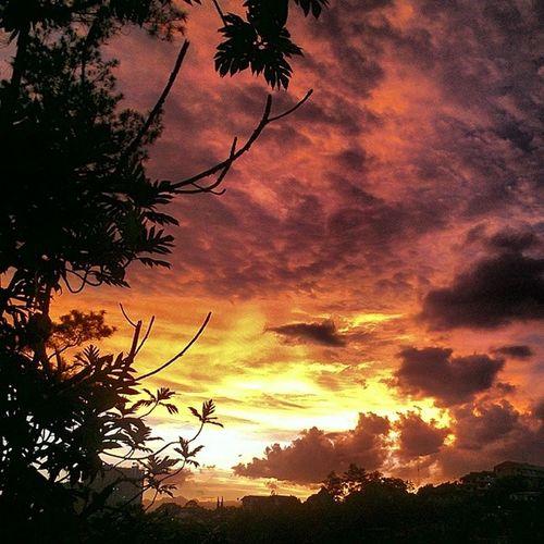Bandung Silhouette Sunset Htcrezound