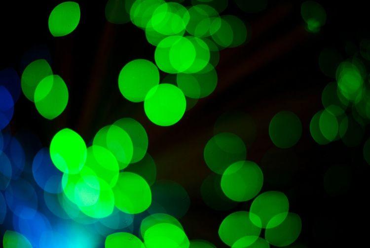 Bokeh 🔵 Green