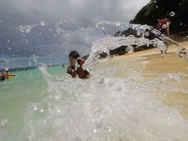 Be.Ready Splashing Water Water Pukabeach BoracayIsland Aklan Philippines Beready Focus On The Story