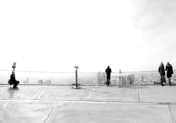 The Explorer - 2014 EyeEm Awards Frankfurt Main Tower Mainhatten