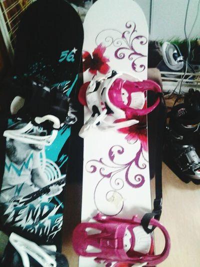celui a mon pere et le mien Snowboard