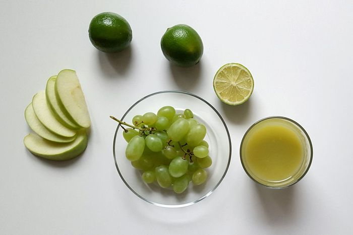 Green Fruits Limes Apple Grapes Mix Smoothie Healthy Boost Vegetarian Healthy Lifestyle Fresh Products Kickstart Energy Drink Liquid Lunch Glass Bowl Things That Are Green Things That Make Me Happy White Background Tasty Juice Kitchen Getting In Shape
