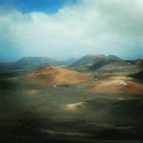 Volcanos Lanzarotte Lava