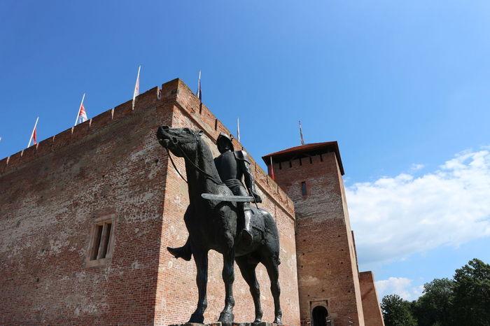 Gyula Canon M10 Castle Historical Building Brick Castle Hungary Tourist Attraction  Showcase July