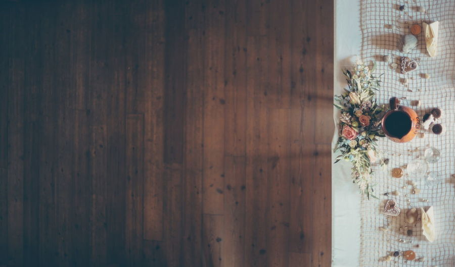 Wedding Table Desk Fork Groom Knife Wedding Wooden Table Bride Brown Flowers Food Foodphotography Indoors  Minimalism Minimalistic No People Serve Simple Beauty Simple Photography Table Textured  Wedding Day Wood - Material Wooden House