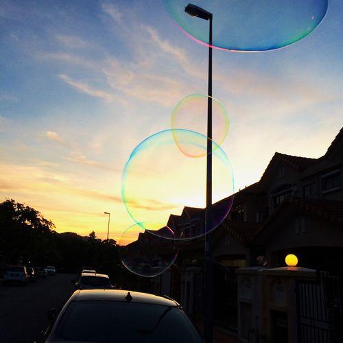 Bubbles Car