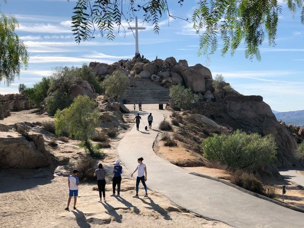 Hiking Up Was A Great Feleing Becuz The Top Was Amazing! Nature Shadow Men Mountain Sky Togetherness Architecture Real People Adult Arid Climate Women Beauty In Nature People