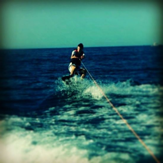 Jumping . Wakeboard Water Adriatico RedBull instagram instagood instaitalia longboard skate ride sea shoutout