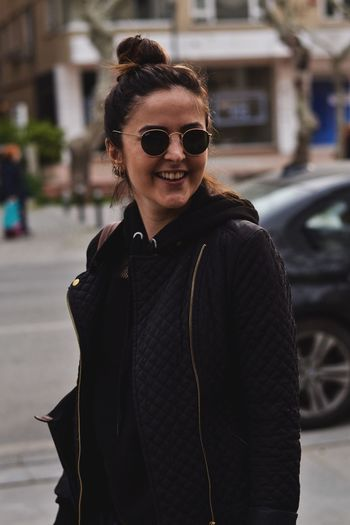 EyeEm Selects Street Outdoors Smiling One Person Young Adult Real People Young Women Day City Lifestyles Istanbul Beauty