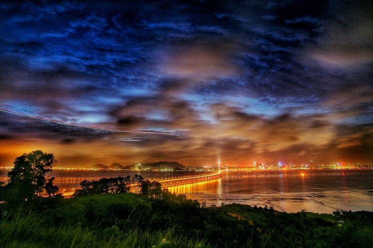 風雲 Pardise Winds &clouds Nightlights Night Photography Landscapelovers City Architecture Light And Shadow Magic Moments EyeEm Best Shots - Landscape EyeEm Nature Lover