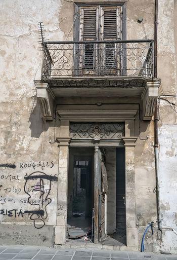 Old door Door, Old Door, Spender, Old Splendour, Vintage Door, Antique Door Abandoned Architecture Building Exterior Built Structure Damaged Day Door No People Outdoors Window