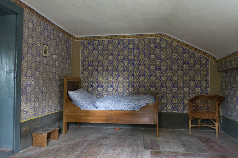 A bedroom in Bad Windsheim Architecture Bavaria Bed Colors German Light Wood Architecture Bedroom Built Structure Design Germania Germany Home Interior Indoors  Interior Interior Design Light And Shadow No People Nuernberg Old Sleep