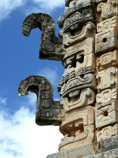 Sculpture Ancient Cultures Archival Statue Religion No People Sky Ancient Civilization Outdoors Astrology Sign Mexican Culture EyeEmNewHere Chac Thunder Rain Idol Maya Idol Mayan Culture