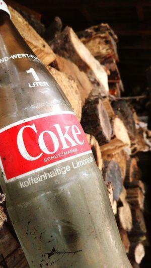 Oldbottle Coke Smartphonephotography Seenatwork