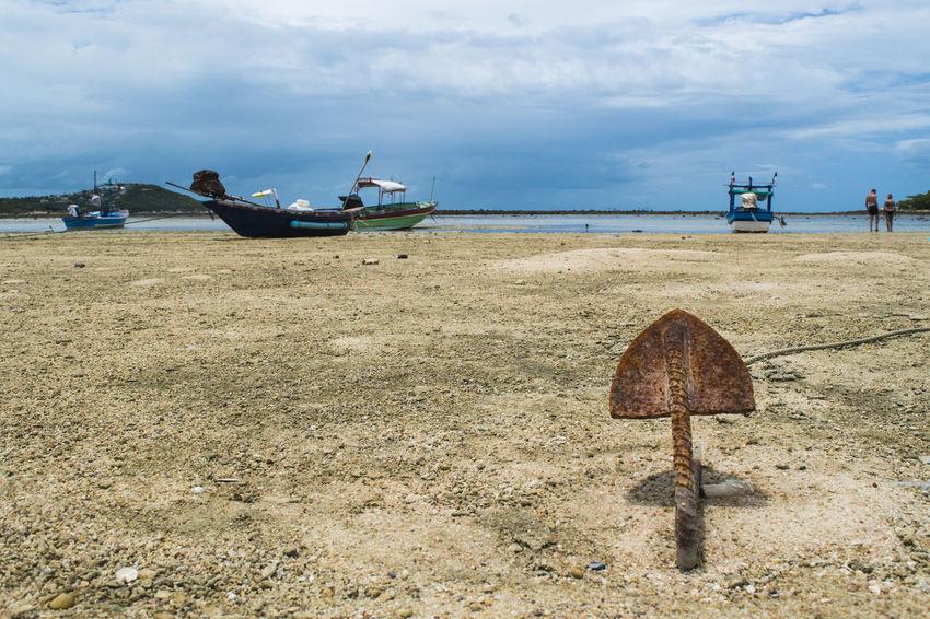 Alba Ancora Atmosphere Beach Boat Calm Colori Imbarcazione Koh Samui Koh Samui Island Mare Sabbia Sand Sea Spiaggia Sunrise Tranquil Scene Tranquility Tranquility Water