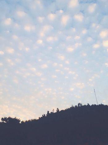 Todo es cuestión de actitud ✋🏼📼 Cielo Nubes Celeste Algodon De Azucar