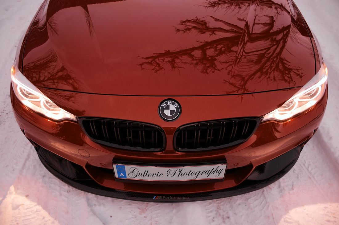 BMW F32 in the snow EyeEm Ready   Cars Car Wintertime Bmw Bmwlove F32 4series MPerformance Averydennison 3M  Sakhirorange Wrapping Wrapped Carbon Fotographie Reutte Niceweather Canon LEDLights Bimmer Car EyeEmNewHere EyeEm Best Shots Austria Tyrol Snow Snowwhite Winter Mirror