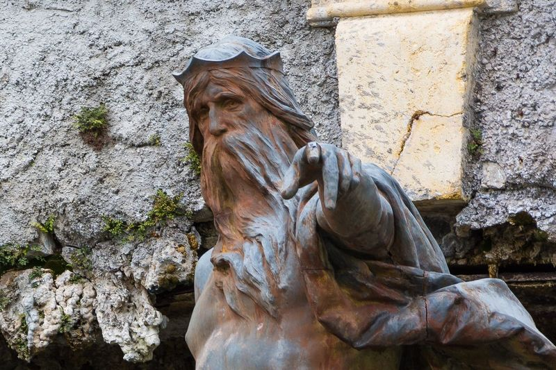 Statue Hand finger God Water fountain Neptune neptune fountain Romantic Strasse german Ludvig Castle EyEmNewHere EyeEmNewHere