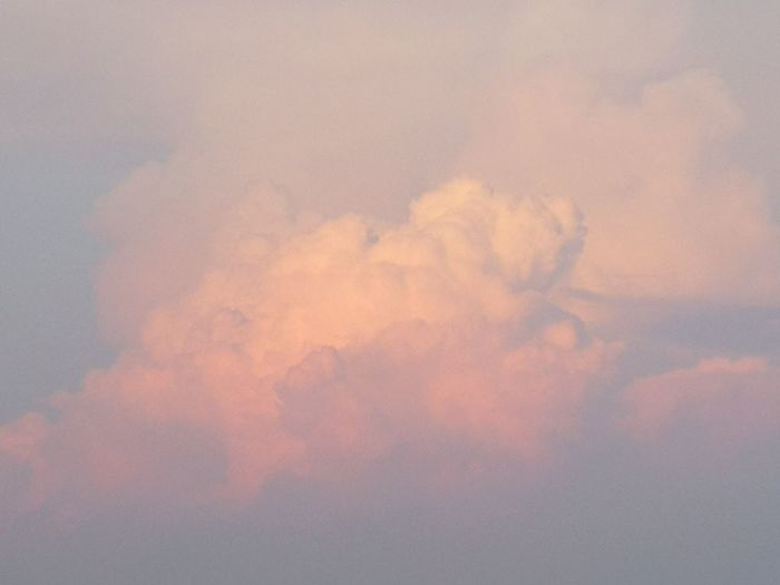 Sky Cloud - Sky No People Backgrounds Environment Nature Beauty In Nature Tranquility Smoke - Physical Structure Orange Color Idyllic Outdoors Softness Day Heaven Scenics - Nature Tranquil Scene Cloudscape Flying Abstract