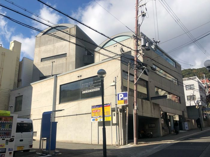 アー*\(^o^)/* #安藤忠雄 #TadaoAndo 安藤忠雄 Tadao Ando TADAOANDO Architecture Sky Built Structure City Sign Communication Building Exterior