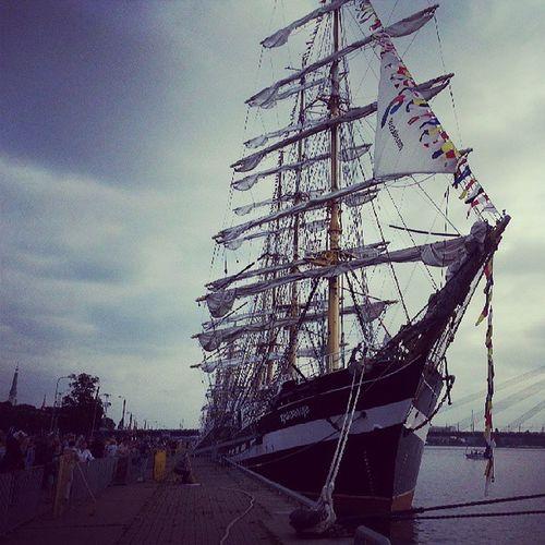 The tall ship races Tsr2013 Riga Kruzenstern Tall ship races instalike instafeel jj instamood