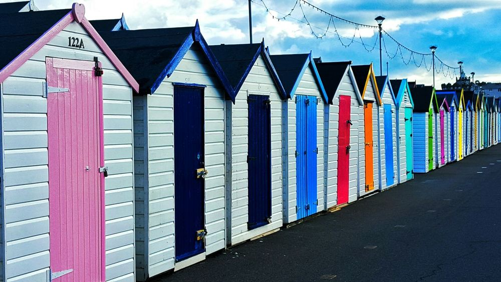 Preston Paignton Paignton Beach Huts Colours