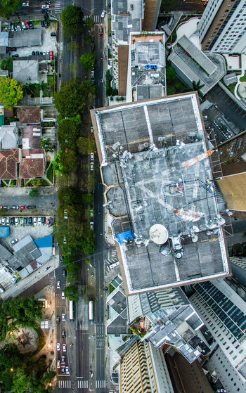 Dronephotography Xvcuritiba Curitiba Outdoors Aerial View Dji Drone  Downtown District City