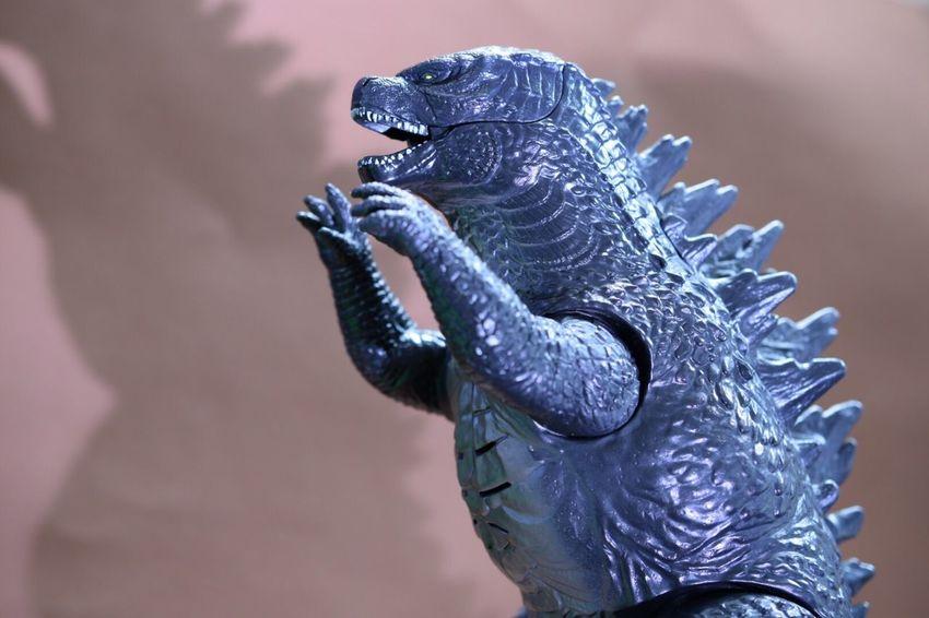Macro Photography Godzilla Toys Macro Toys